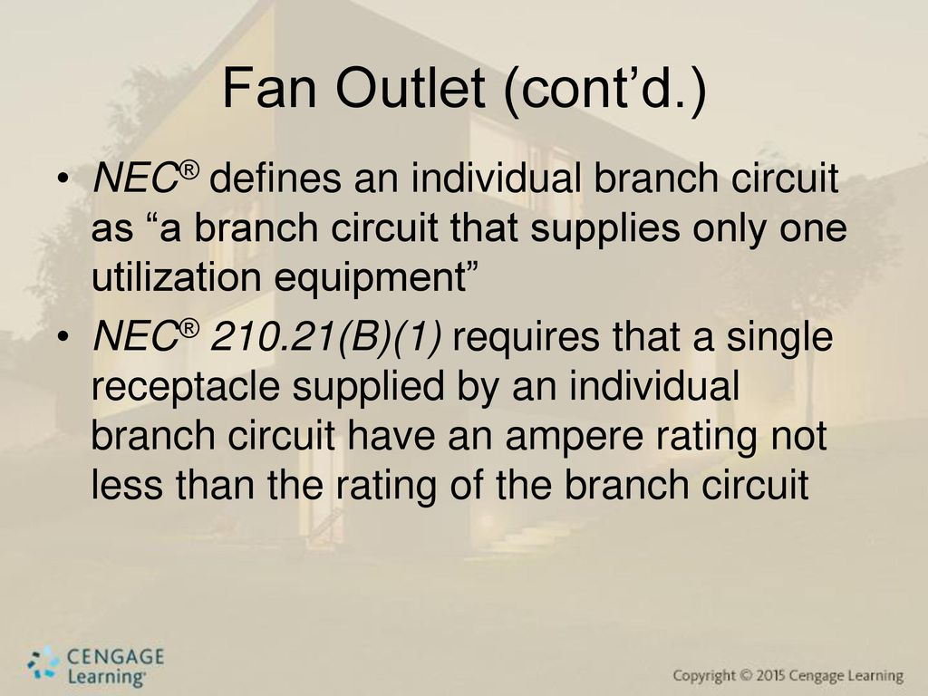 Lighting Branch Circuit And Small Appliance Circuits For Kitchen Multi Wire Nec Defines An Individual As
