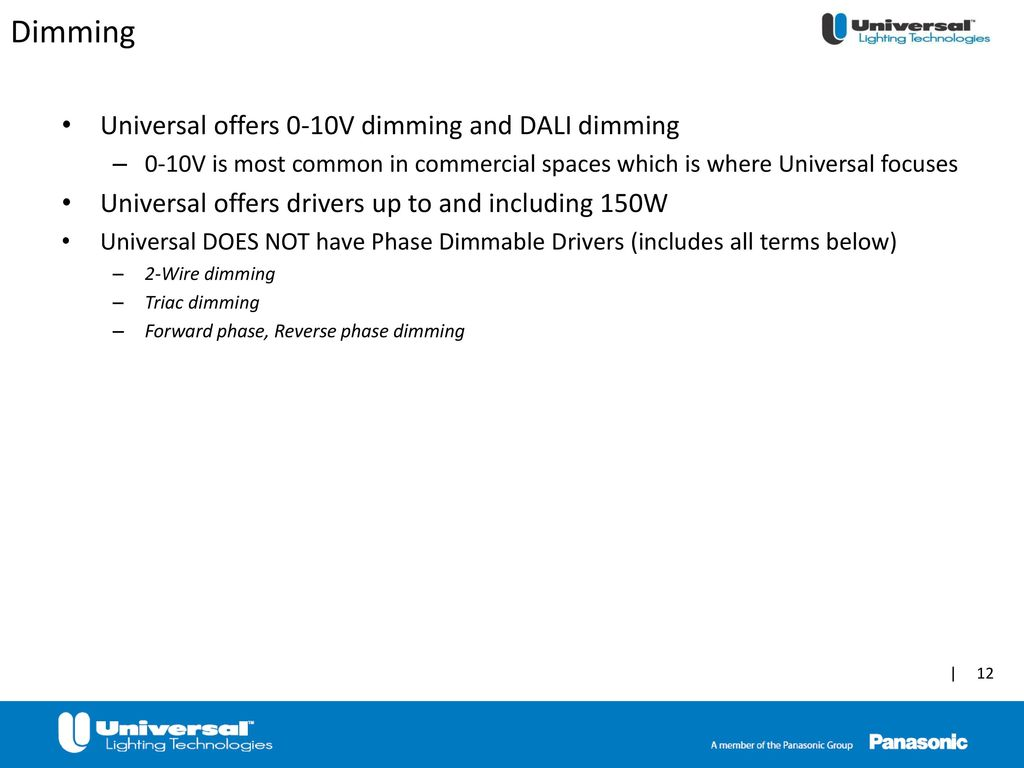 Led Driver Training Ppt Download 0 10v Dimming Wiring Diagram 12 Universal Offers
