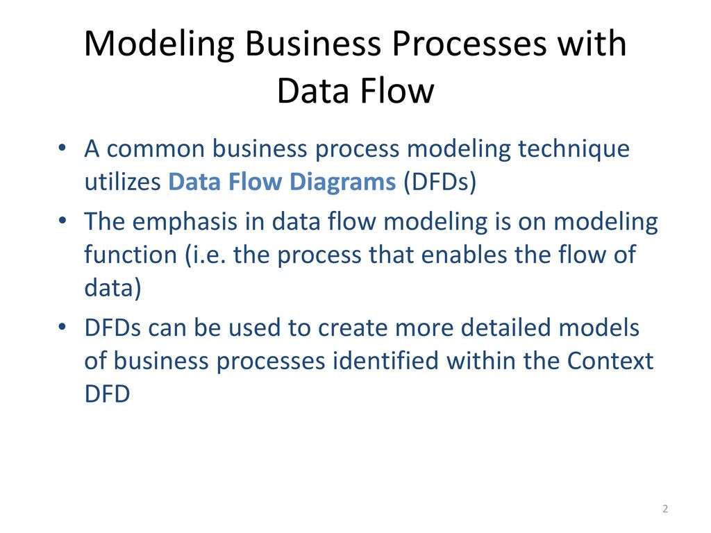 Introduction To Data Flow Diagrams Ppt Download Process Diagram Presentation Modeling Business Processes With