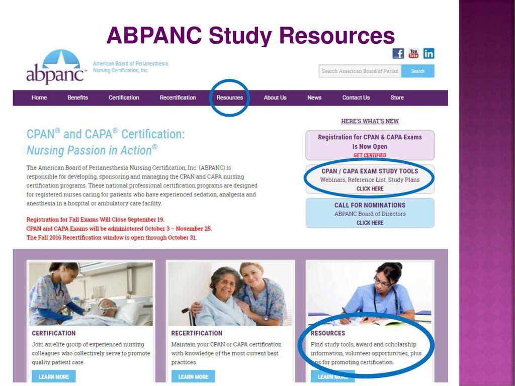 ABPANC Study Resources