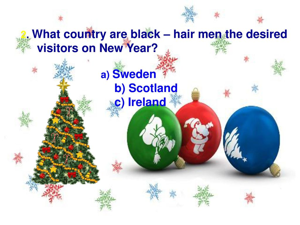 Christmas and New Year Traditions Around the World. - ppt download