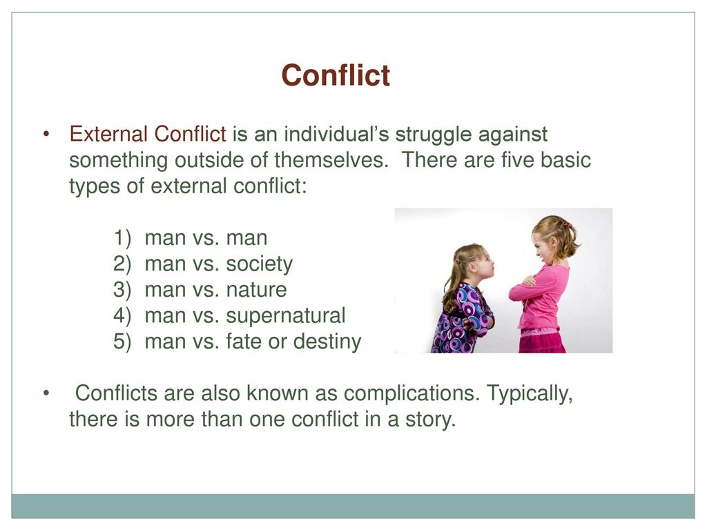 Teen stories about conflicts