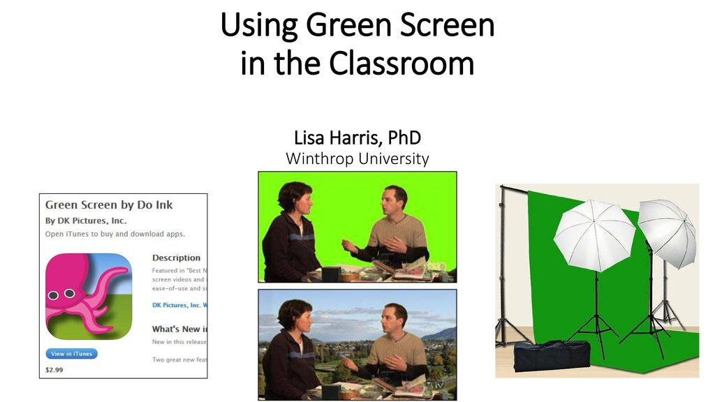 Green Screen App and iMovie Capabilities - ppt download