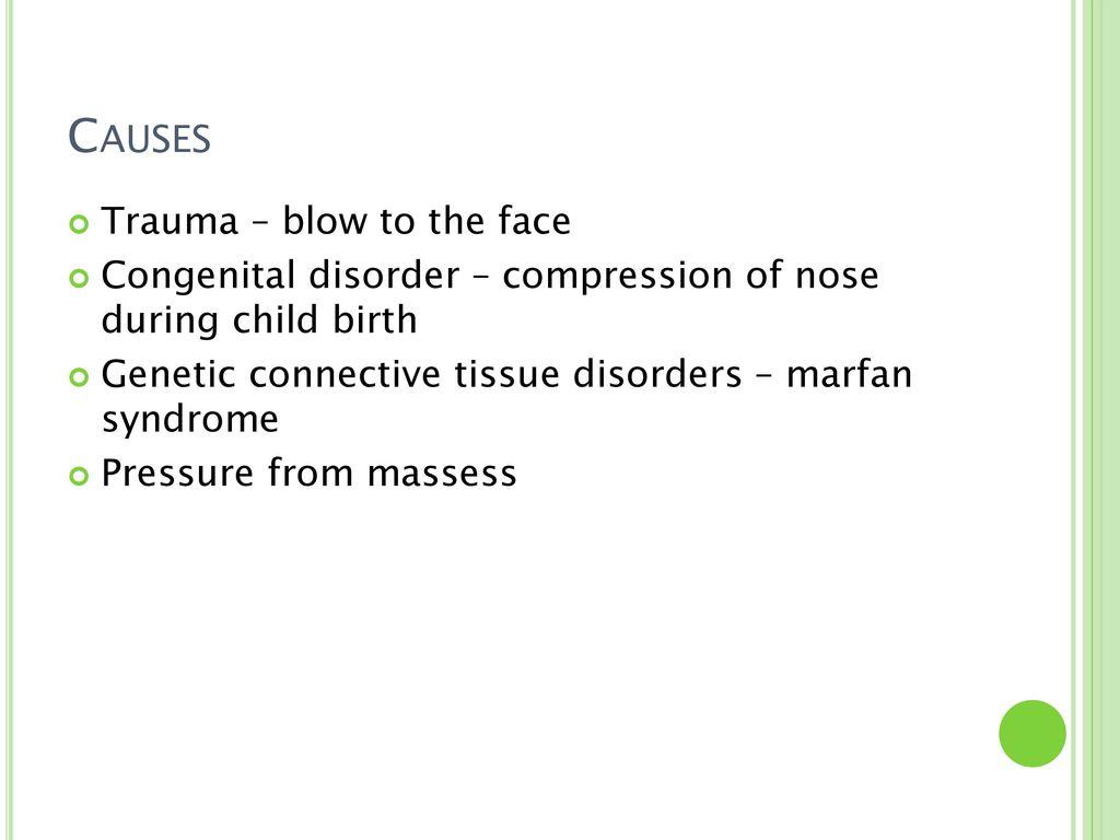 Deviated Nasal Septum Ppt Download