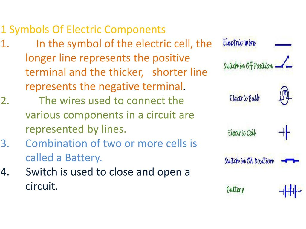 Electric Current And Its Effects Ppt Download