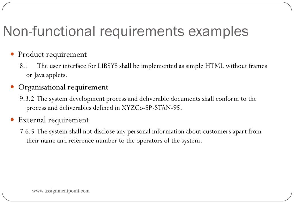 Presentation On Software Requirements Submitted By Ppt Download