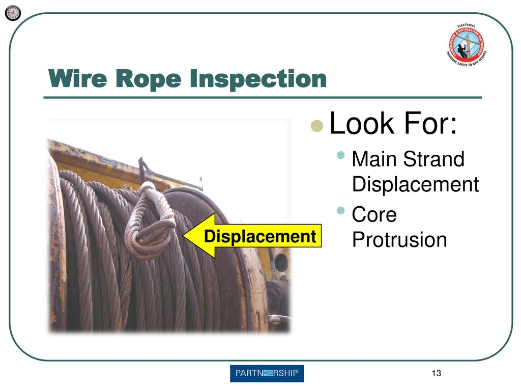 Wire Rope Inspection Look for: - ppt download