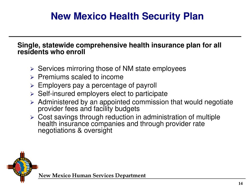 Summary of New Mexico's Universal Health Coverage Reform