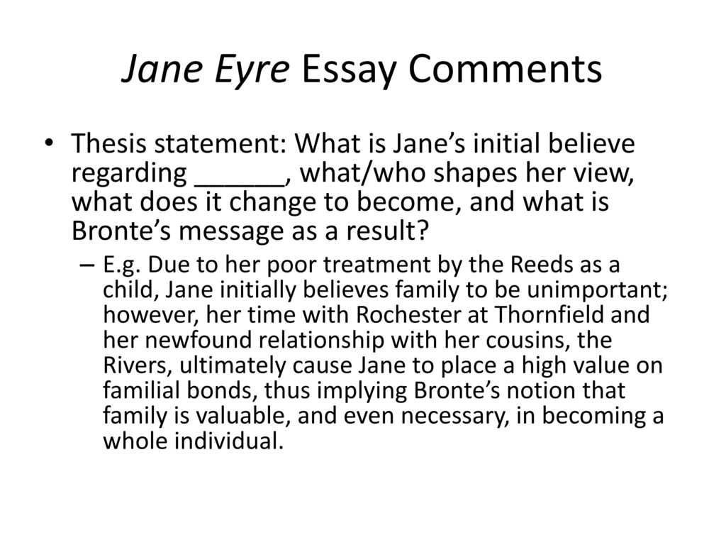 todays class quiz review of literary analysis writing  ppt download jane eyre essay comments
