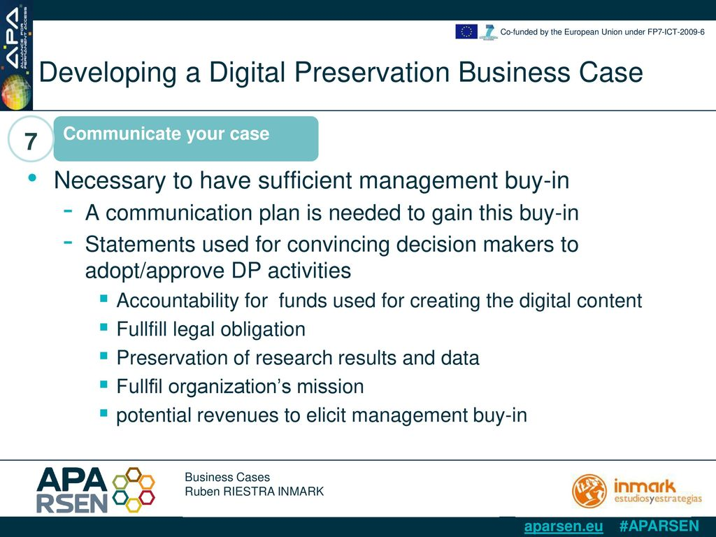 Business Cases Ruben Riestra - Inmark - ppt download