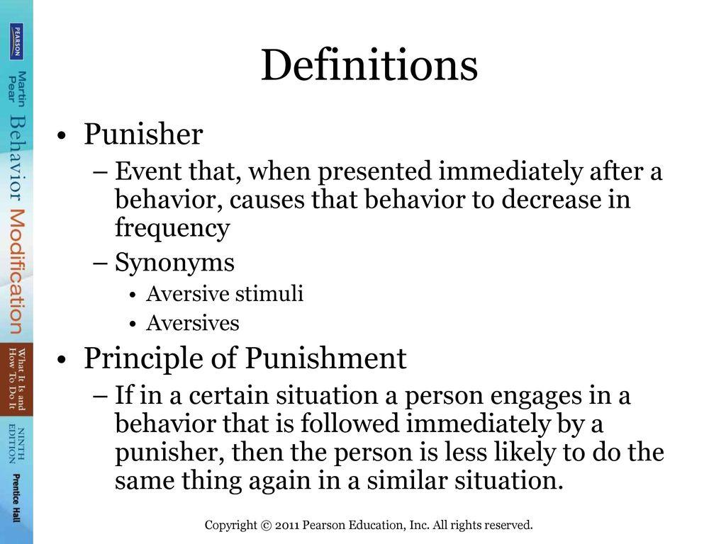 behavior modification eliminates undesirable behaviors by