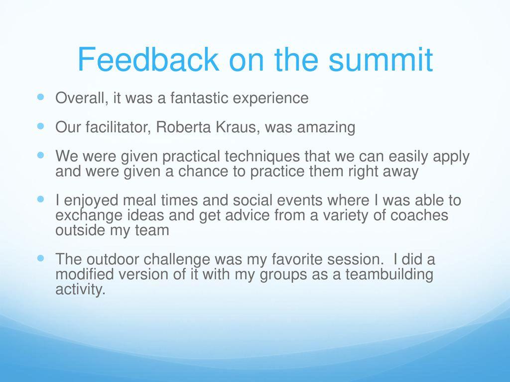 USA Swimming Women's Leadership Summit - ppt download