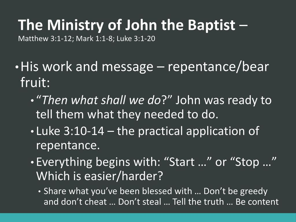 The Life of Christ Lesson 3 - ppt download