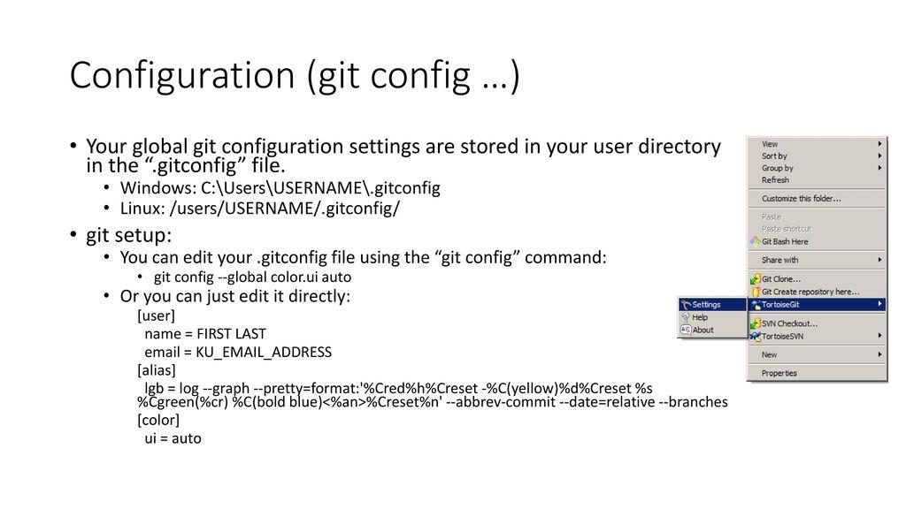 CReSIS Git Tutorial  - ppt download
