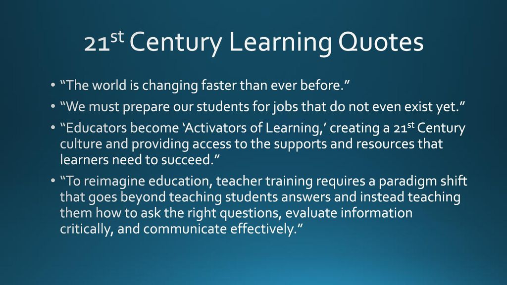 Content Knowledge The Key To 21st Century Learning Ppt Download