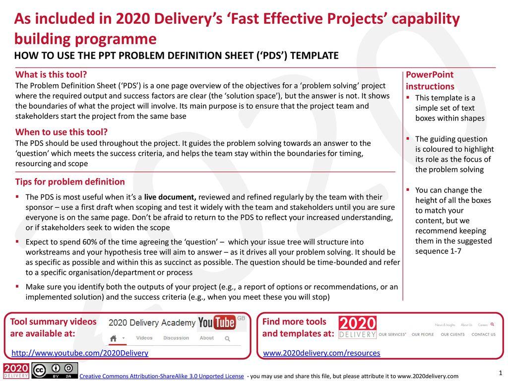 powerpoint presentation criteria sheet