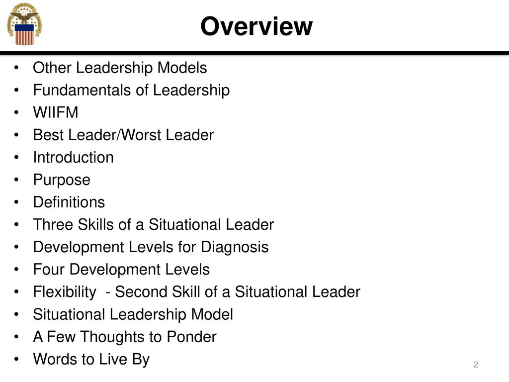 situational leadership - ppt download