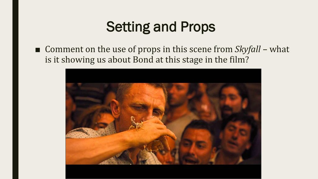 Skyfall Film Techniques - ppt download