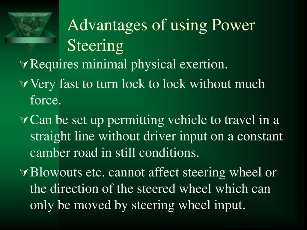 Seminar on ELECTRONIC POWER STEERING - ppt download