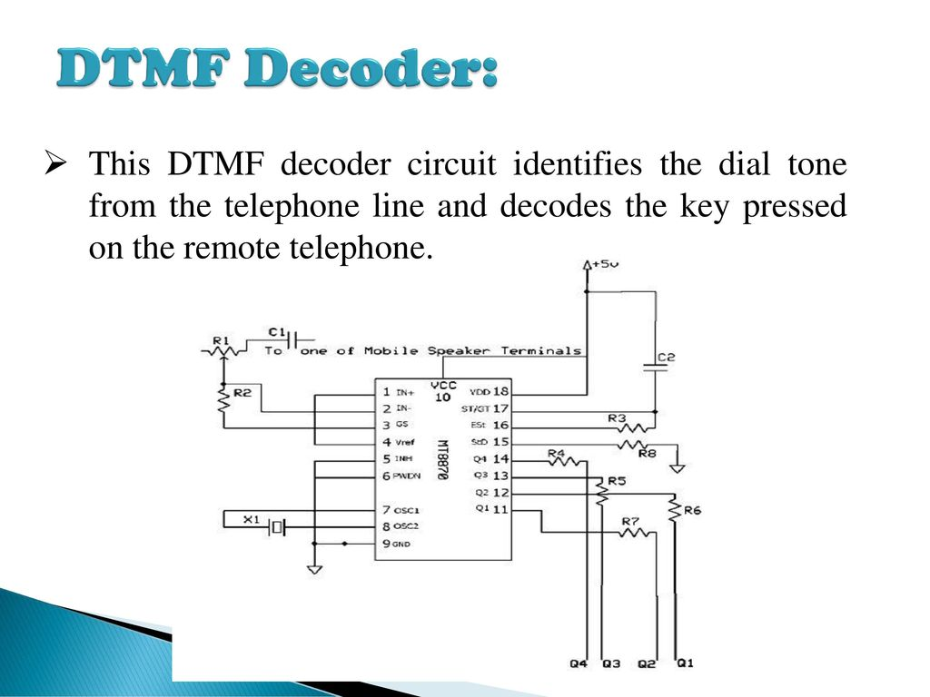CELL PHONE BASED DTMF CONTROLLED GARAGE DOOR OPENING SYSTEM