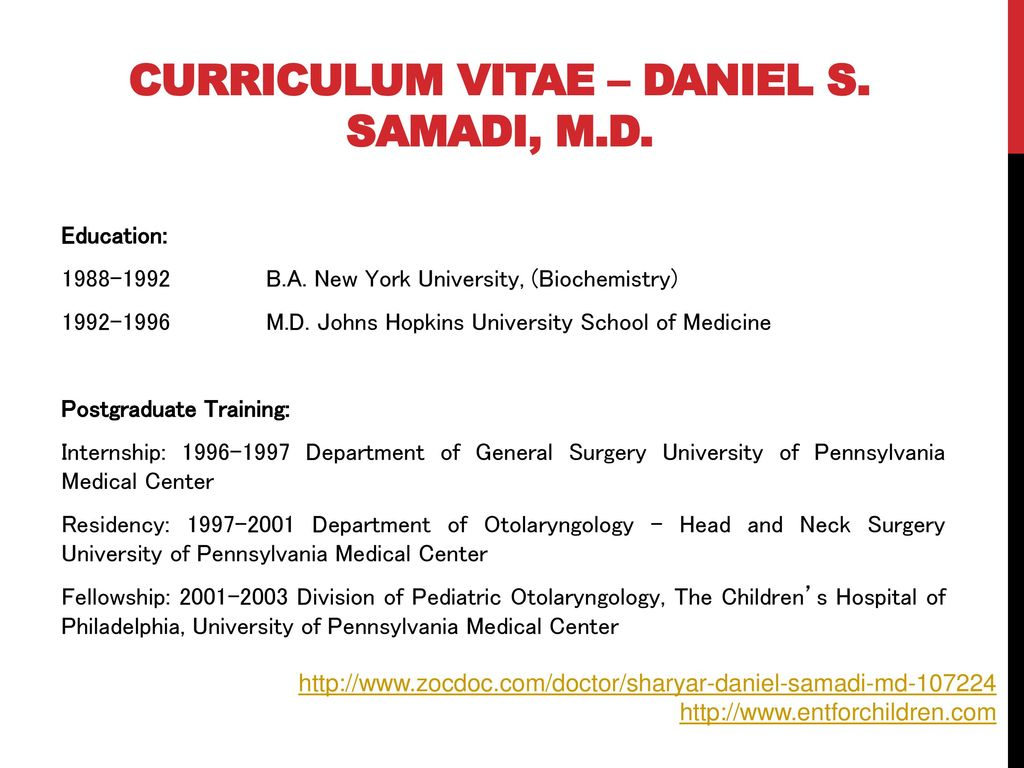 Pediatric ent nj by Dr  Daniel Samadi, md - ppt download