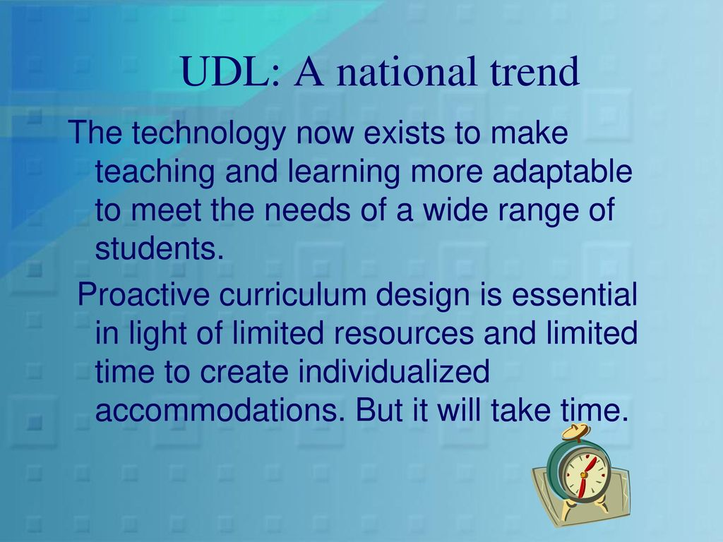 Universal Design for Learning in Today\'s Classrooms - ppt download