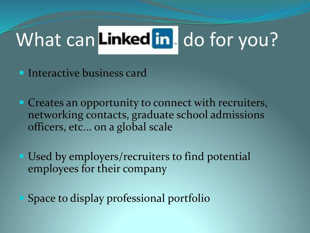Are you a workshop for linkedin beginners ppt download what can linkedin do for you colourmoves
