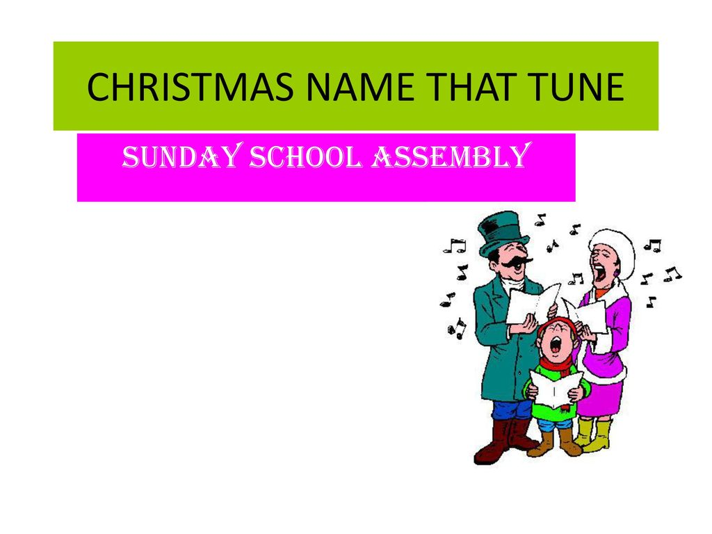 CHRISTMAS NAME THAT TUNE - ppt download