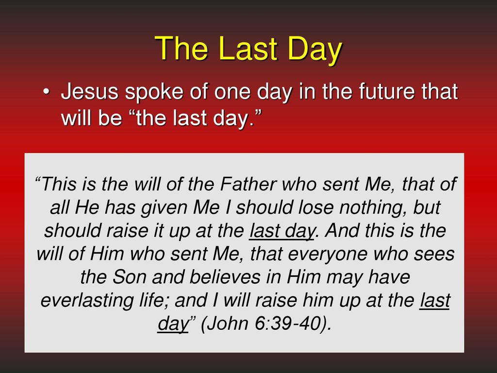 Kuvahaun tulos haulle John 6:39-40