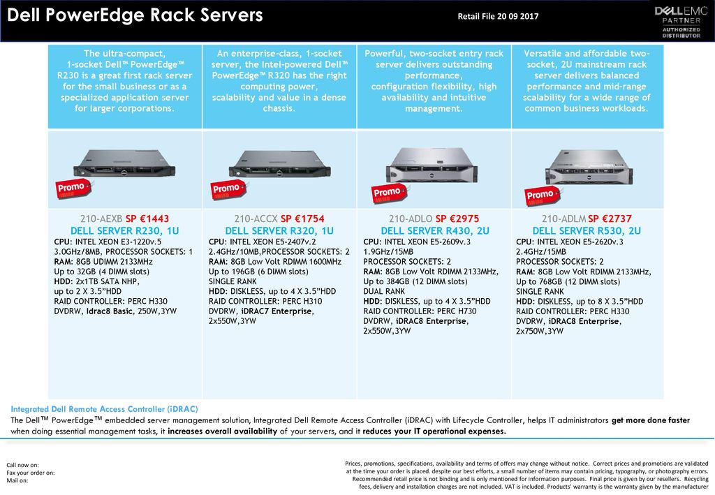 NEW Dell PowerEdge Tower Servers Dell PowerEdge Tower