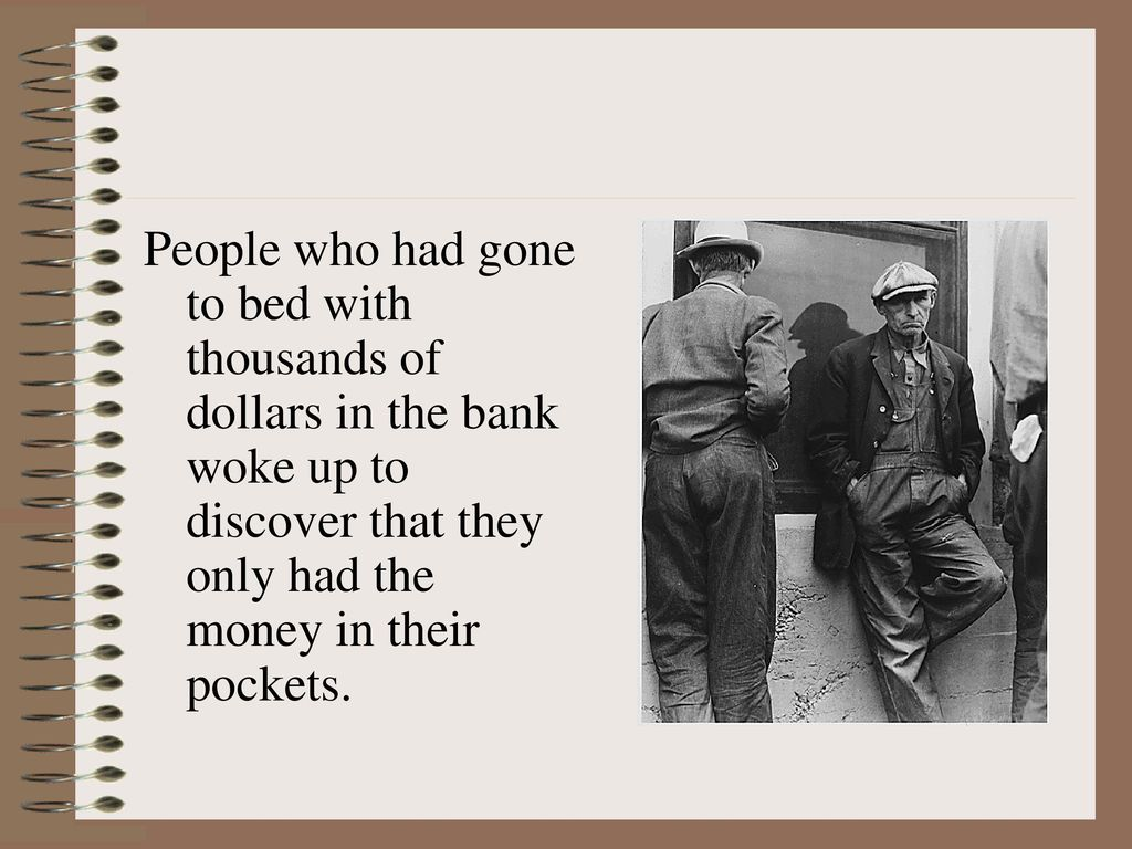 Image result for the great depression began on october 29,1929