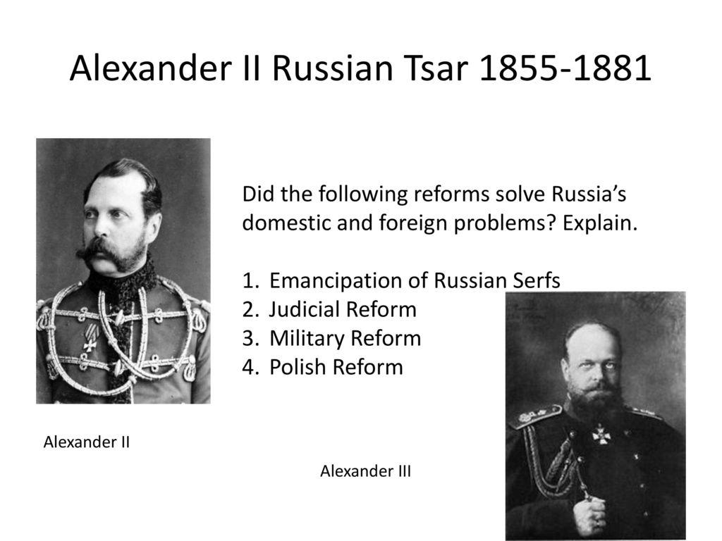 Judicial reform of Alexander 2. The reforms of Alexander 2 briefly 31