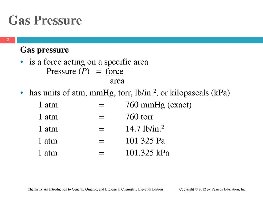 Chapter 6 Gases 6 2 Gas Pressure Ppt Download