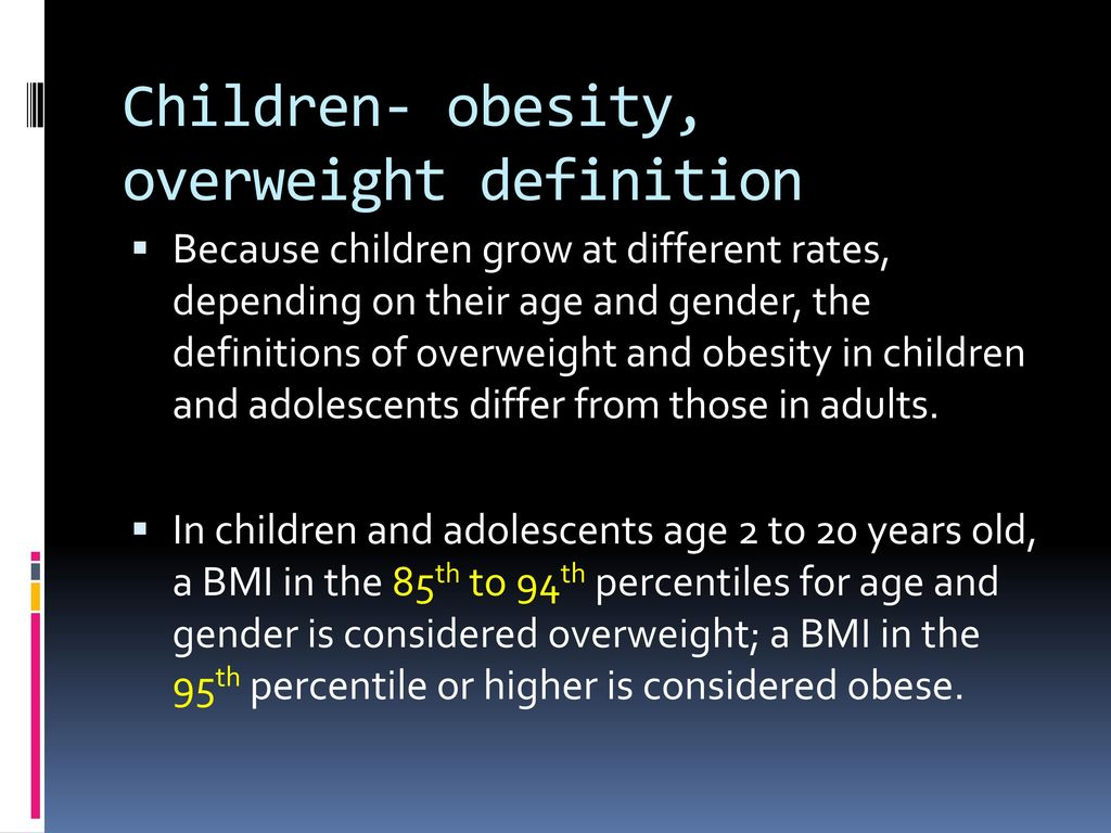 obesity in primary care - ppt download
