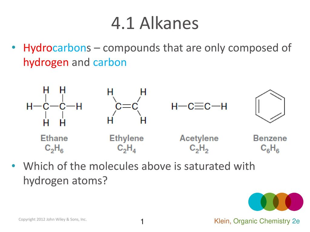 Hydrocarbons are compounds of carbon with hydrogen that do not contain other elements. Hydrocarbon classification 86