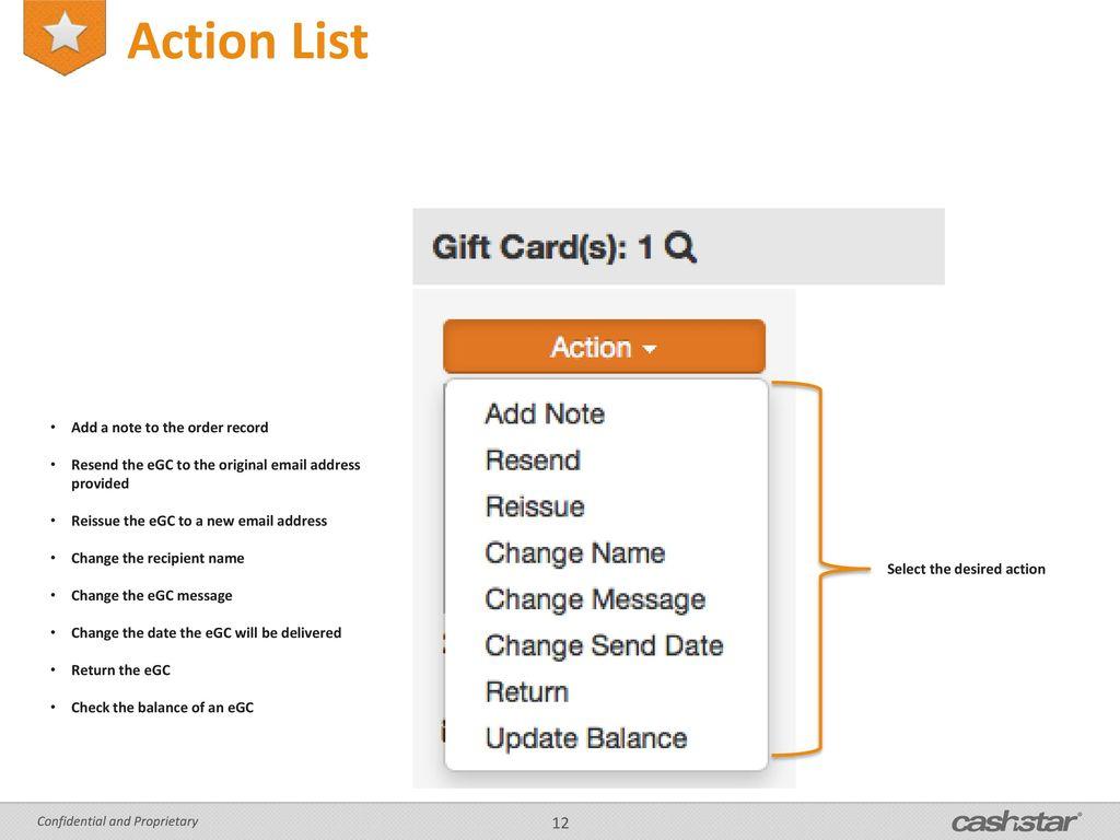 Cashstar OIS Training August ppt download