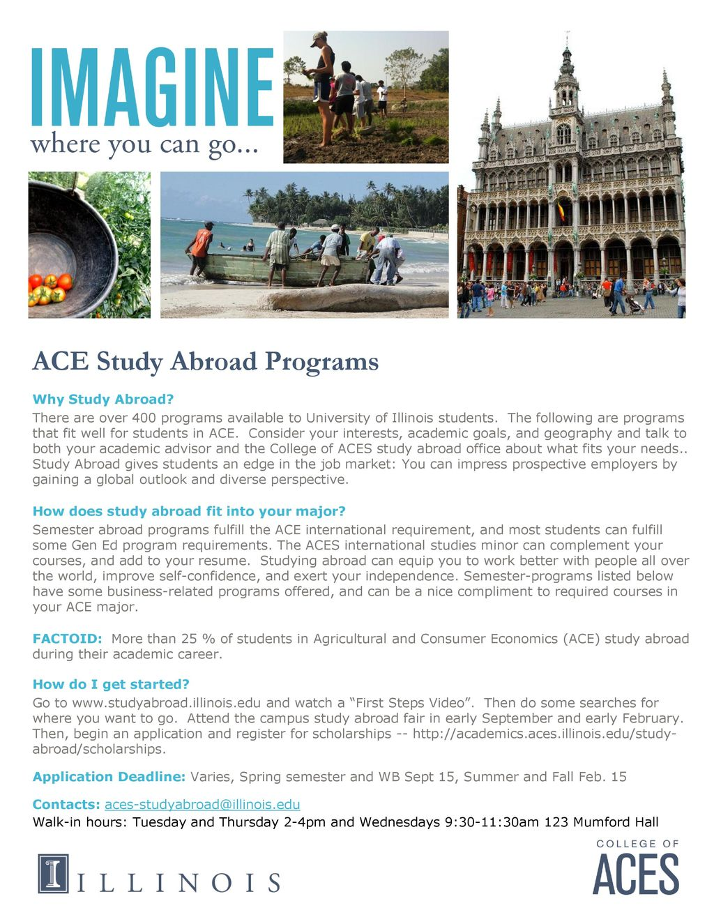 ACE Study Abroad Programs - ppt download