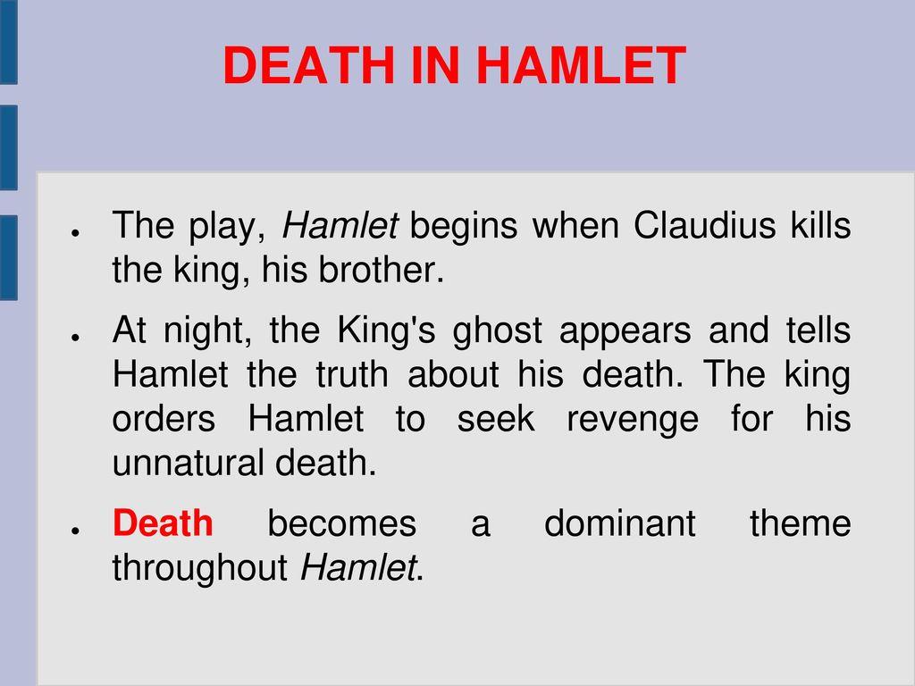 hamlets revenge