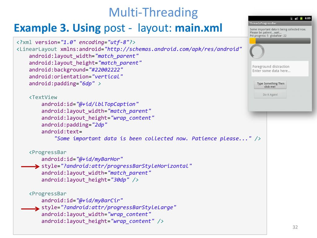 Android Multi-Threading - ppt download