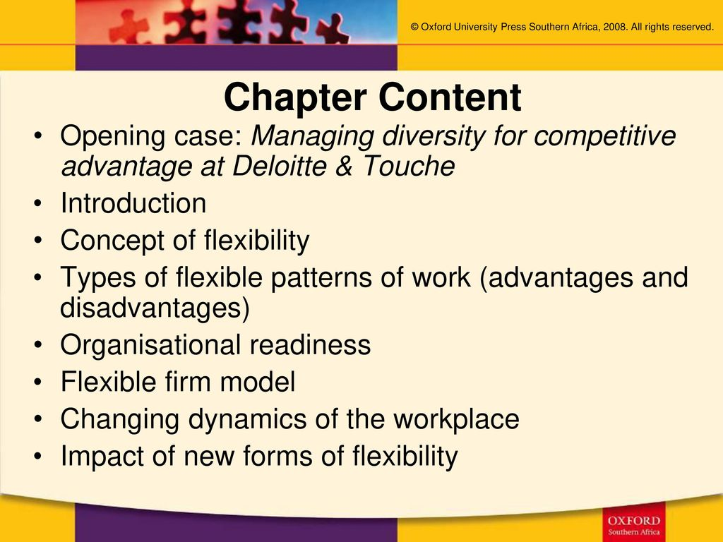 flexible firm model advantages and disadvantages