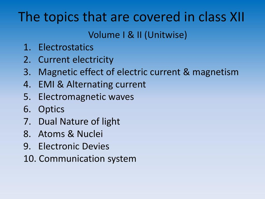 Orientation for class XI Physics - ppt download