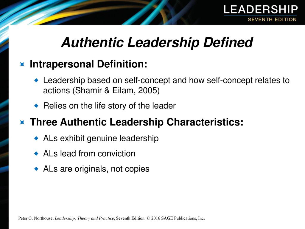 Chapter 9: Authentic Leadership - ppt download
