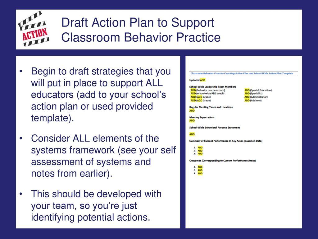 Vtpbis Classroom Behavior Practice Coaching Intensive Focus On