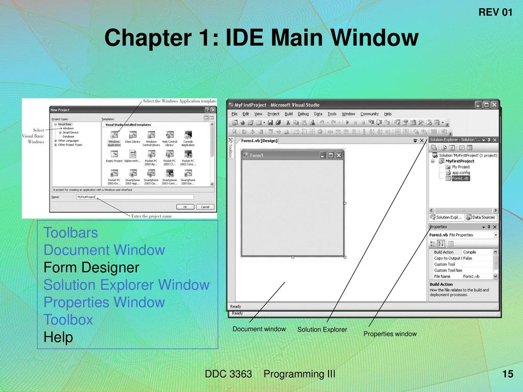 DDC 3363 – Programming III Main Reference - ppt download