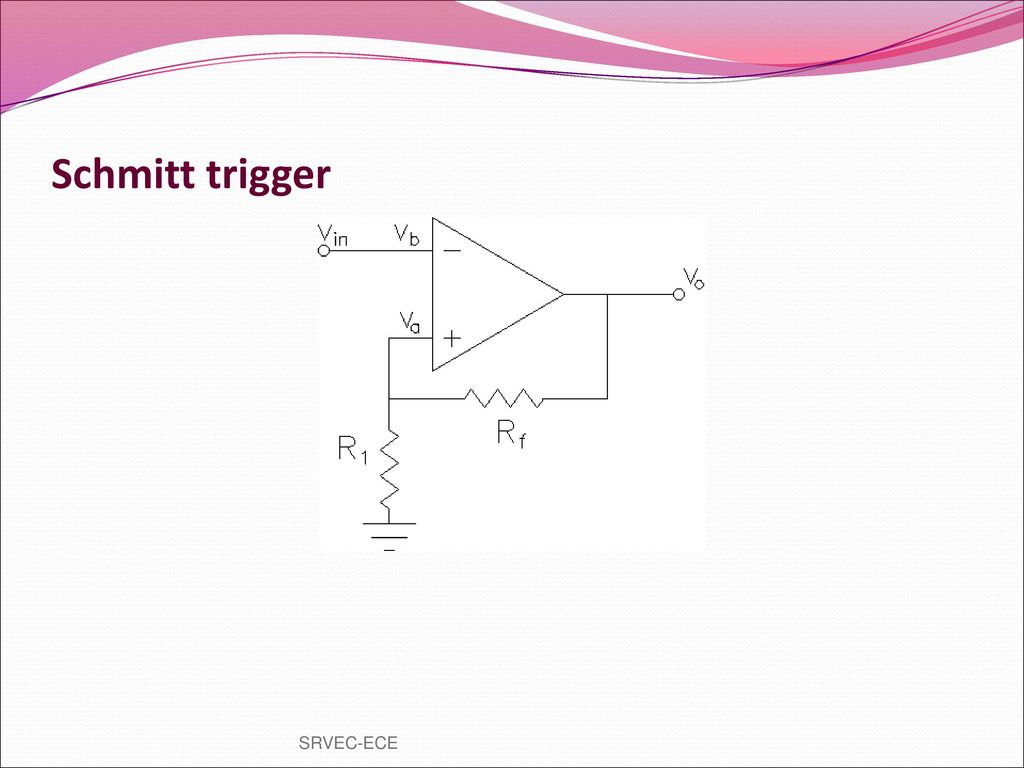 Prepared By Vgrajaramyame Ap Ece Ppt Download Control Scr And Schmitt Trigger Electronic Projects Circuits 31 Srvec
