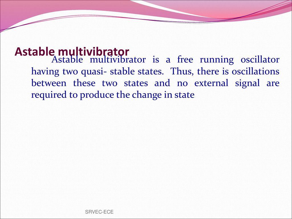 Prepared By Vgrajaramyame Ap Ece Ppt Download Op Amp Astable Multivibrator Oscillator Circuit 36
