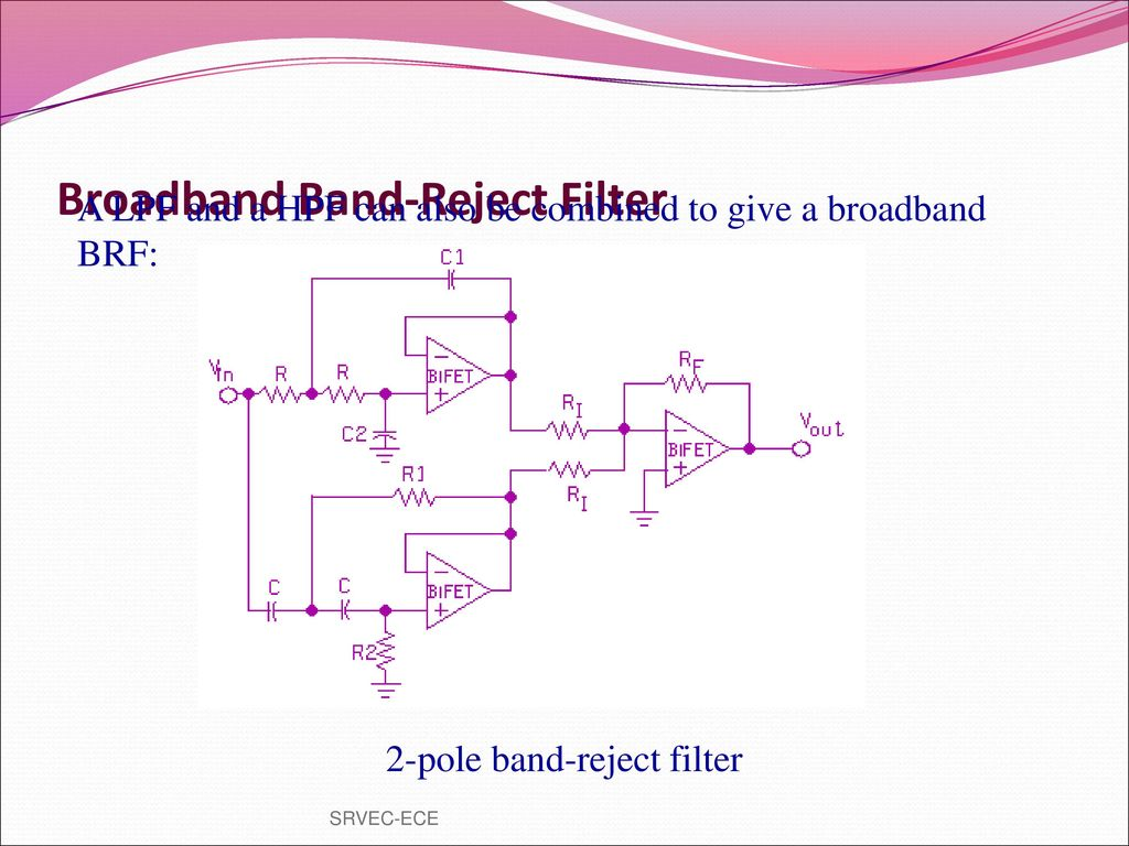 Prepared By Vgrajaramyame Ap Ece Ppt Download Good Pix For Band Reject Filter Circuit Broadband