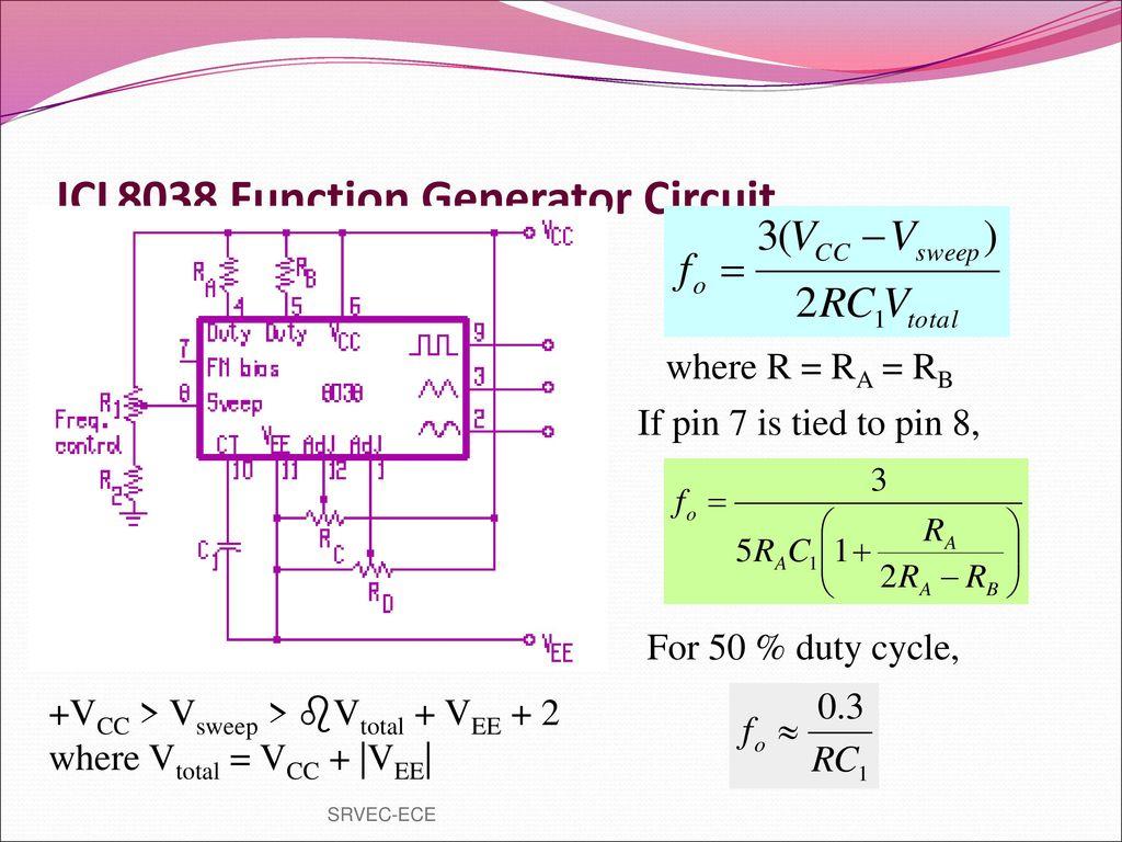 Prepared By Vgrajaramyame Ap Ece Ppt Download Pulse Generator Or Waveform Circuit Icl8038 Function