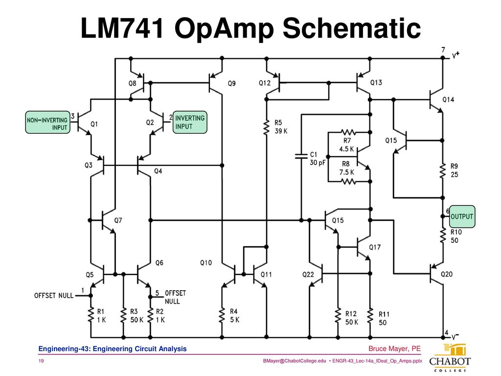 Licensed Electrical Mechanical Engineer Ppt Download Lm741 Circuit 19 Opamp Schematic In Many Designs Mosfets Have Replaced The Bjts