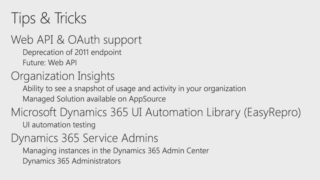 5/27/ :57 PM Tips & Tricks for Deploying and Managing Microsoft